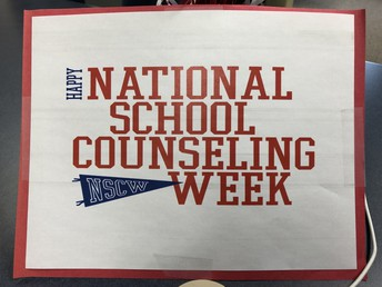 """""""Shout out"""" to UHS counselors during National School Counseling Week!"""