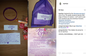Purple Bags for Kindness