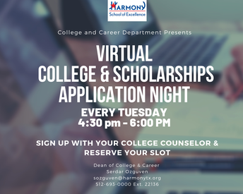 College Applications & Admissions