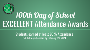 100 Day Excellent Attendance