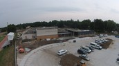 Look at that parking lot!