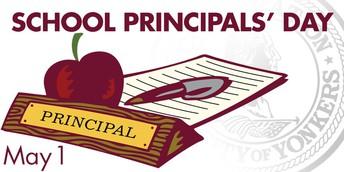 To Our Principal, we appreciate you!
