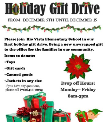 Click to learn more about our holiday drive!