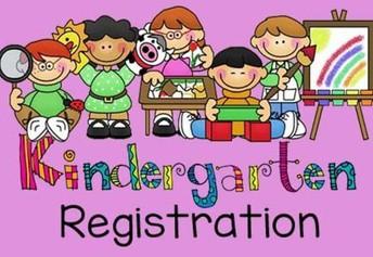 Kindergarten Registration Starts Today!