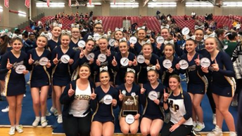 APHS Cheer Goes to States