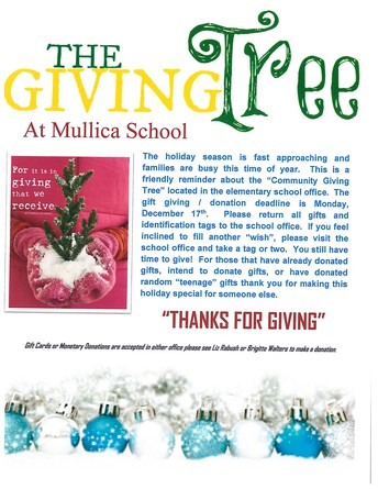 Mullica Township Community Giving Tree