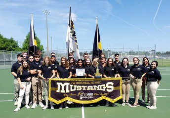 NJROTC Unarmed Exhibition Team is 4th in the Nation.
