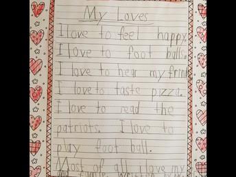First Grade Loves...