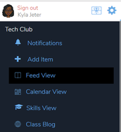 Step #7: Access Teacher Toolbar Menu