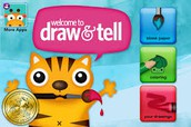 Draw and Tell iPad App from Duck, Duck, Moose