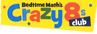 Bedtime Math's Crazy 8's Club