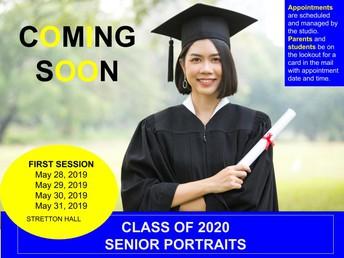 Senior Portraits for Class of 2020