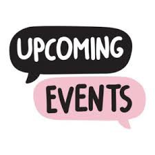 Save the date - September Events!