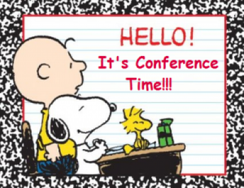 Conferences Are Coming!