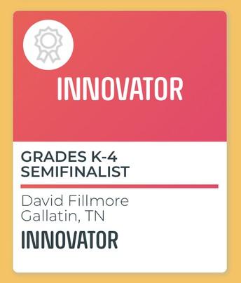 Congratulations to David Fillmore!