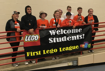 3rd place: Coldwater's LEGO Legends!