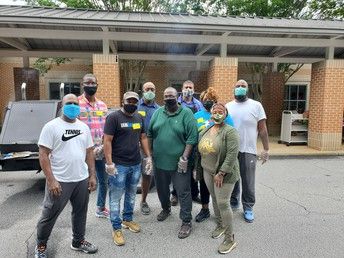 PTA and ALL Pro Dad's Grilled for Teacher Appreciation Week