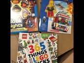 LEGO Books! Always a favorite!