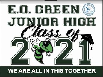 May 5-May 6: 8th Grade Sign Distribution
