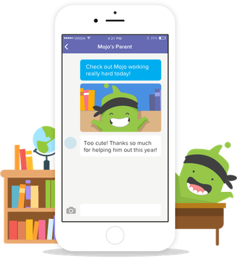 Connect with Class Dojo!