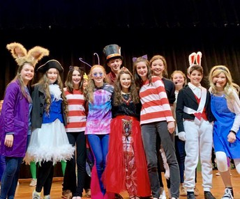 ALICE IN WONDERLAND, JR. HUGE SUCCESS