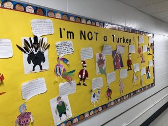 I'm Not a Turkey -2nd grade