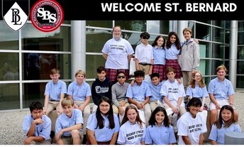 8th Grade Students Visit Bishop Lynch