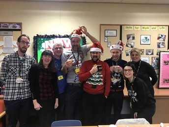 Staff Christmas House Competition