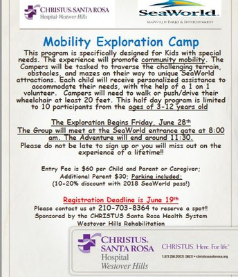 Mobility Exploration Camp