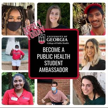 Apply To Be a Public Health Ambassador