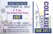 Escondido College and Career Fair