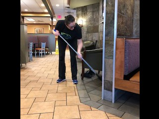 McDonald's never looked cleaner!!!!