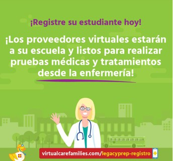 Registro de atención virtual