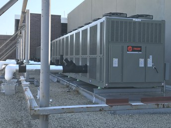 Air conditioning chillers