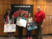 Goshen Lion's Club Peace Poster Contest Winners!