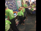 Every Thursday buddy classrooms pair up.