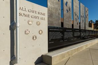 Veterans Memorial Plaza Open for Veterans Day