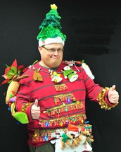 Gaudy Holiday Sweater Day