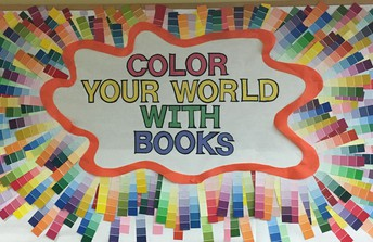 SAVE THE DATE - SEPTEMBER 26 - COLOR YOUR WORLD WITH BOOKS FAMILY NIGHT AT OLSON - 6PM - 7PM
