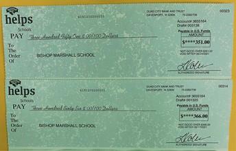 Hannaford Helps Schools Program PAYOUT!