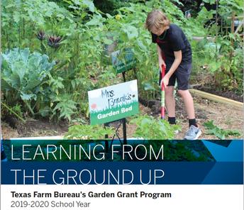 Texas Farm Bureau's Garden Grant Opportunity