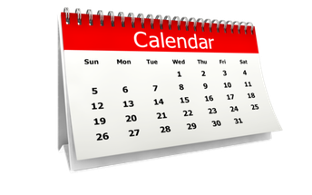 Important Testing Dates