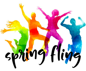 Spring Fling Videos Due Friday, 4/23