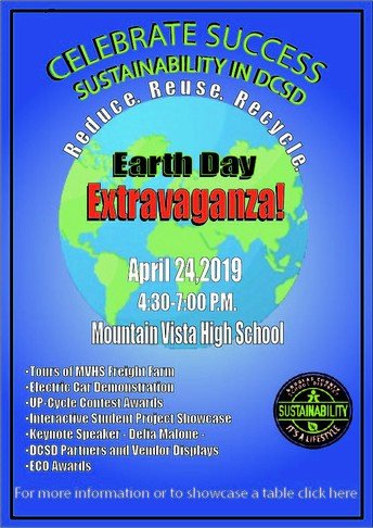 Celebrate Earth Day with us this Wednesday at Earth Day Extravaganza!