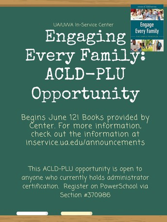 Engage Every Family: ACLD-PLU Opportunity