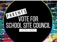 School Site Council Ballot Vote Coming
