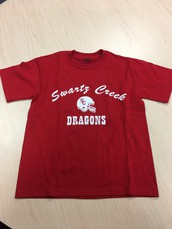 Dragons-Football Design T-Shirt