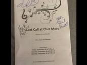 Autographed Program