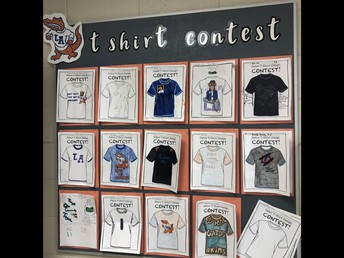 Who will win the t-shirt design contest?