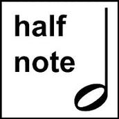 half note = blanca